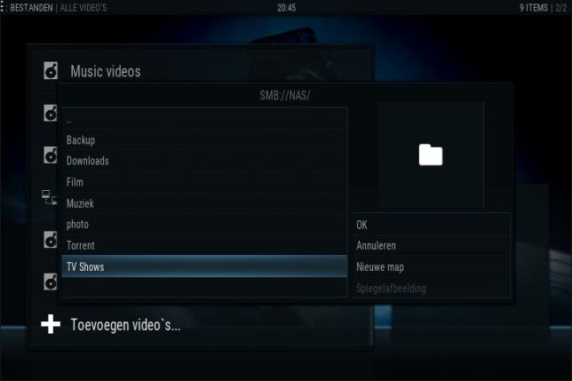 Kodi instellen: Video's op je NAS toevoegen aan Kodi