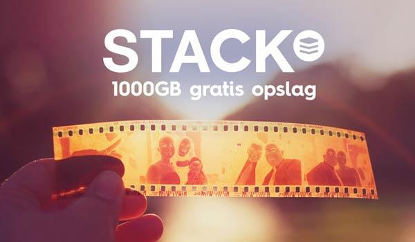 Backup Gratis 1000 GB met Synology en STACK
